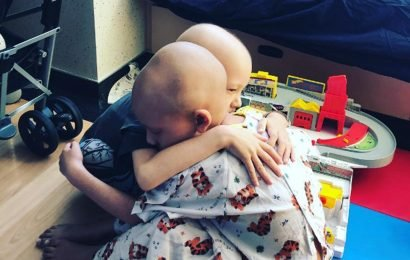 Sister, 6, and brother, 5, BOTH diagnosed with the same rare brain cancer just 2 weeks apart