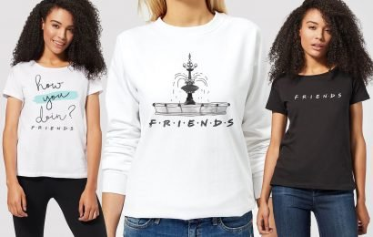 You can now get Friends hoodies and T-shirts including the 'how you doin' slogan for just £12.50
