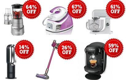 Get a brand new vacuum, coffee machine or blender from eBay – and get up to 67% off