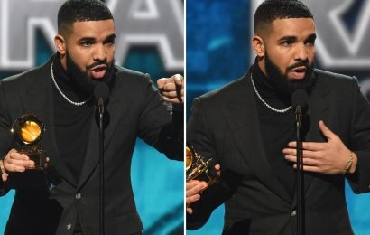 Grammy 2019 bosses forced to apologise to Drake after cutting short his acceptance speech slamming awards ceremonies