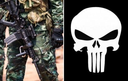 SAS heroes 'banned' from wearing unofficial skull badge on uniforms after being compared to NAZIS by PC army chiefs