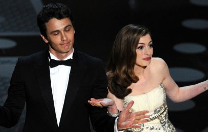 Anne Hathaway Jokes About Hosting the Oscars With James Franco