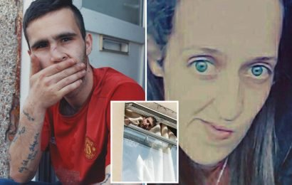 Skint Britain star who shocked viewers by saying he was so poor he had to eat moles is actually woman beater who stole from his pregnant ex