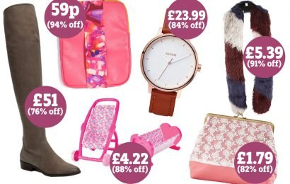Littlewoods outlet store Bargain Crazy is having a huge sale – including discounts up to 94 per cent