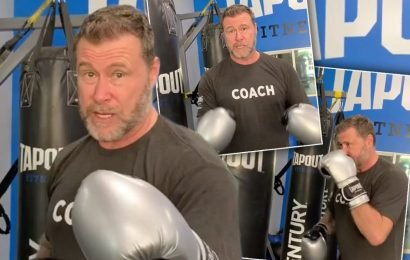 Desperate Dean McDermott Charging $25 For New Boxing Class: 'Punch Me In The Face!'