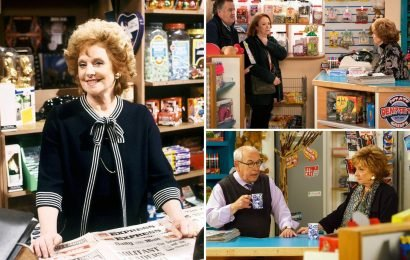 Coronation Street spoilers: Furious Rita throws Brian and Cathy out of the Kabin after they betray her and buy business behind her back