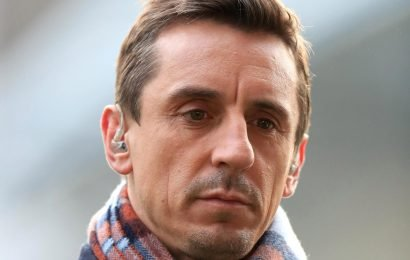 Gary Neville says Liverpool players did a 'complete no-no' in getting 'rattled' after West Ham draw