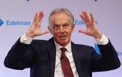 Tony Blair blasts Jeremy Corbyn's chaotic Brexit policy and says he's losing Leave AND Remain votes