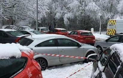 Drivers furious after cars abandoned in snow are given parking tickets by jobsworth wardens