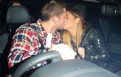 Jacqueline Jossa and Dan Osborne share passionate kiss after early Valentine's dinner as they get marriage back on track
