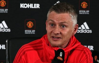 Man Utd boss Solskjaer says he's not bothered about title race.. then reveals he wants Spurs to win the league