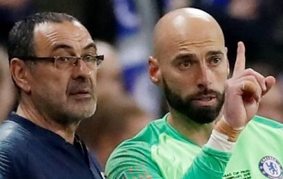 Kepa told Caballero he was the better keeper in Wembley dressing room row