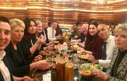 The Independent Group MPs mocked as 'out of touch' after ordering salad and bottled water at Nando's