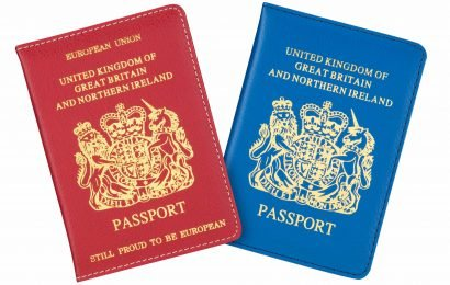Poundland is launching blue and red passport covers ahead of Brexit