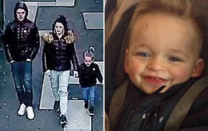 Alfie Lamb filmed 'running to keep up' with mum before lover 'crushed him to death with a car seat' hours later