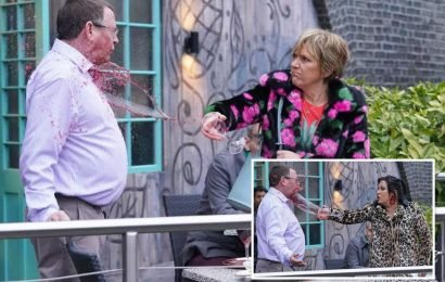 Eastenders spoilers: Ian Beale gets a drink chucked in his face by Jean AND Kat Slater as he's dumped after a disastrous date