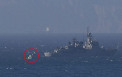 Brit navy heroes in two hour standoff with Spain off Gibraltar after warship storms UK waters and REFUSES to leave
