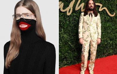Gucci boss issues grovelling apology for £690 'blackface' jumper after racism storm