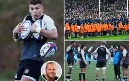 England must prepare for the brilliant and bonkers French.. who would have a glass of red, foie gras and a cigarette before training