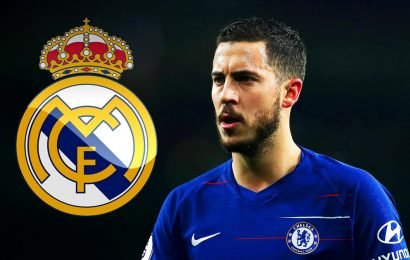 Eden Hazard looks set to quit Chelsea as close pal reveals his 'head's been with Real since the summer'