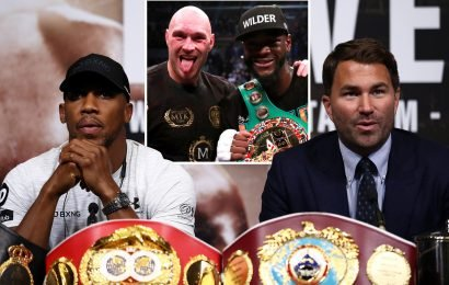 Anthony Joshua wants winner of Fury and Wilder after beating Miller, insists 'frustrated' promoter Eddie Hearn
