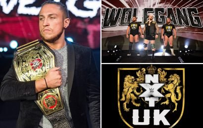 WWE announce three NXT UK dates for Glasgow, Download Festival and Plymouth