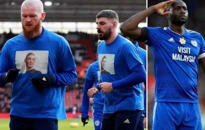 Zohore scores dramatic winner on emotional day for Bluebirds after Sala tributes as they climb out of drop zone