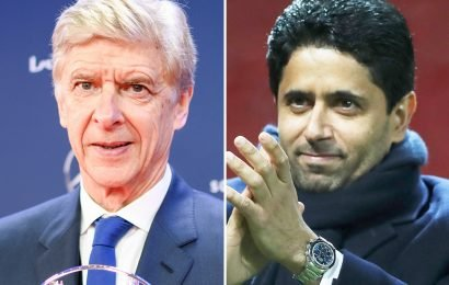 Arsenal legend Wenger 'met with PSG president last week' as rumours over sporting director role continue