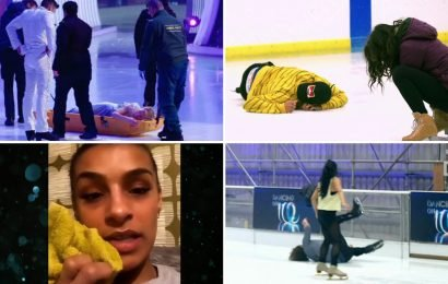 Dancing On Ice compared to The Jump as almost ALL contestants suffer nasty injuries this week