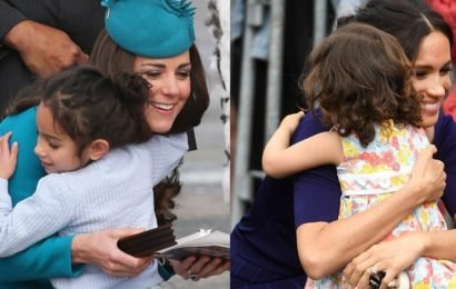Let's Talk About Something Kate and Meghan Have in Common: Really Cute Moments With Kids