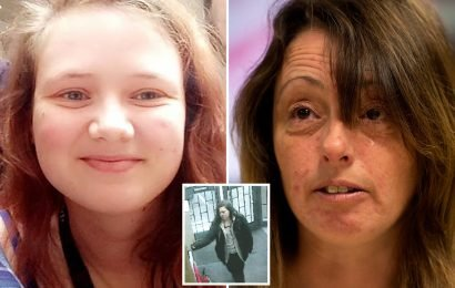 Tearful mum's heart-breaking appeal for missing Leah Croucher, 19, who vanished 7 days ago to come home