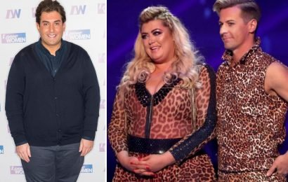 Gemma Collins' boyfriend James Argent is in talks ALREADY for Dancing on Ice after he was blown away by her weight loss