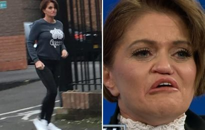 Danniella Westbrook spotted outside rehab where she's dealing with drug addiction after Jeremy Kyle intervention