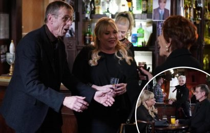 EastEnders spoilers: Sharon Mitchell shocked as Lofty surprises her at home