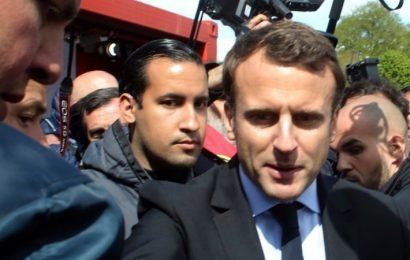 Macron's bodyguard had eight passports and 'Russian link'. French senators now want answers