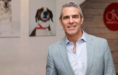 Andy Cohen Reveals 1st Photo Of Newborn Son's Face As He Cuddles Baby Close On Mag Cover