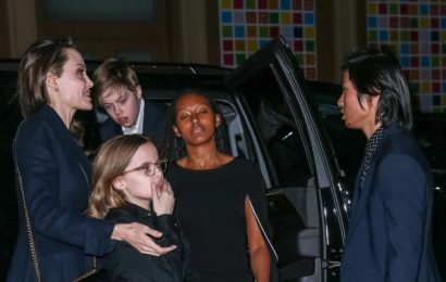 Angelina Jolie Is The Perfect Mom Taking Her 6 Kids To A Special Movie Screening In NYC