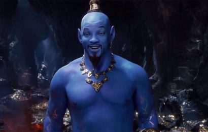 OK, We Really Need to Discuss Will Smith's Genie in the New Aladdin Trailer For a Sec