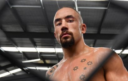 'He's just Rob for me': Family man behind fighter Whittaker