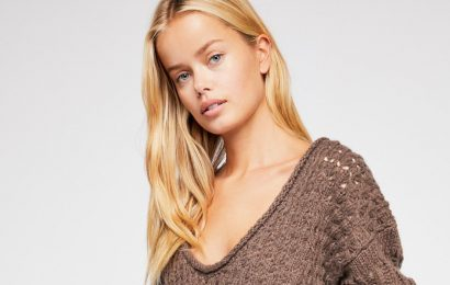 Cozy Up and Beat the Cold in This Knit Free People Sweater