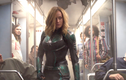 Brie Larson Just Shared a New Captain Marvel Fight Scene