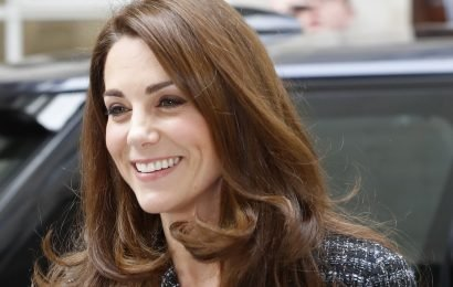 Kate Wore the Smartest Tweed Suit to the Mental Health in Education Conference