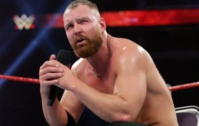 WWE star Dean Ambrose suffers injury two months before his contract ends