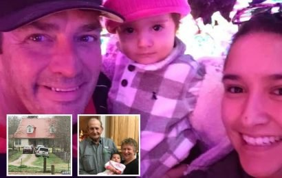 Gunman, 54, 'shot wife, 27, their 15-month-old baby and his wife's grandparents in sickening murder-suicide at Texas ranch'