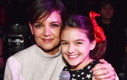 Katie Holmes Just Shared the Sweetest Photo of Suri Cruise in the Snow