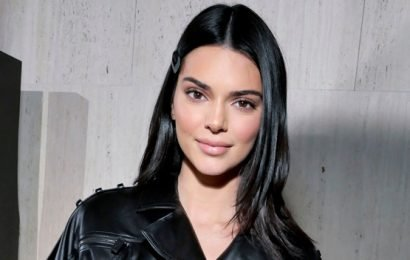 Kendall Jenner Slays In A Tiny Leather Mini Dress During NYFW — See Pic