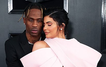 Travis Scott Creates Wildly Romantic Valentine's Day 'Tunnel Of Love' For Kylie Jenner — Watch