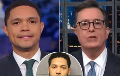 Trevor Noah Uncovers Silver Lining in Jussie Smollett Scandal, Stephen Colbert Suggests Sex Tape