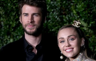 Liam Hemsworth Goofs Off With Miley Cyrus At Pre-Oscars Dinner After Hospitalization