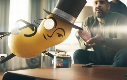 Mr. Peanut Goes Nuts While Saving Alex Rodriguez From Bad Snacks In Planters' Super Bowl Ad
